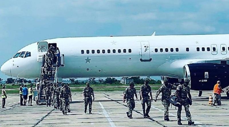 Аэропорт «Николаев» впервые принял Boeing 757: британские военные прибыли для участия в «Си Бриз»