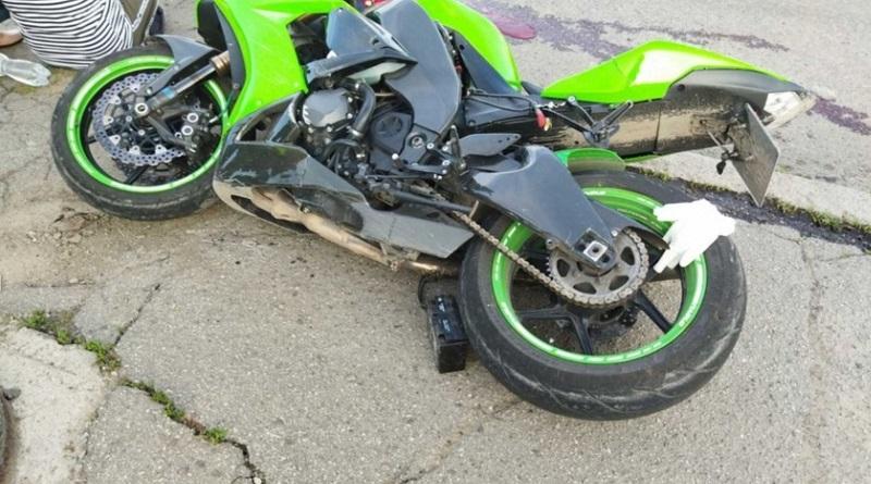 Мотоциклист разбился насмерть на мосту в Первомайске
