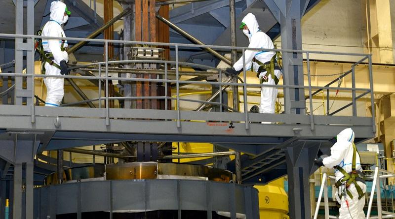 Начались работы в рамках планово-предупредительного ремонта на втором энергоблоке ЮУАЭС