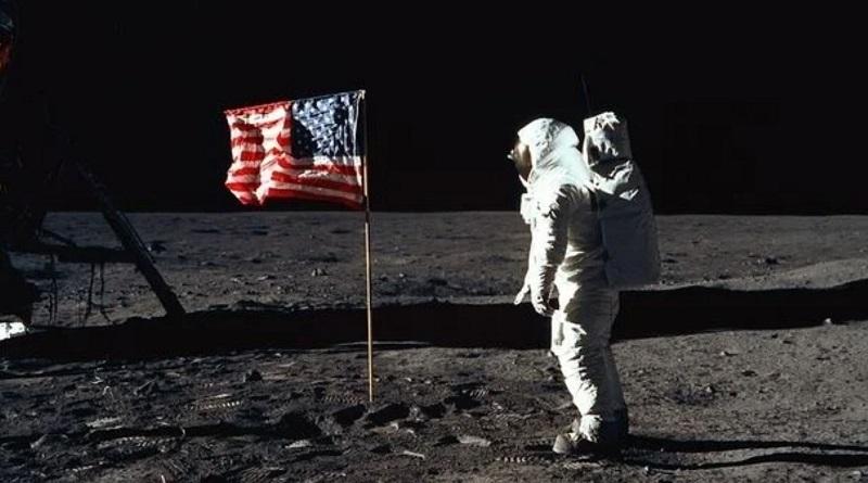 "На видео NASA увидели призрачного астронавта миссии ""Аполлон-11"". Видео"