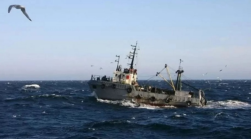 В Черном море терпит крушение украинское судно: об этом сообщают росСМИ