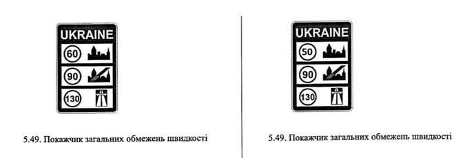 На украинских дорогах изменят дорожные знаки на новые: детали