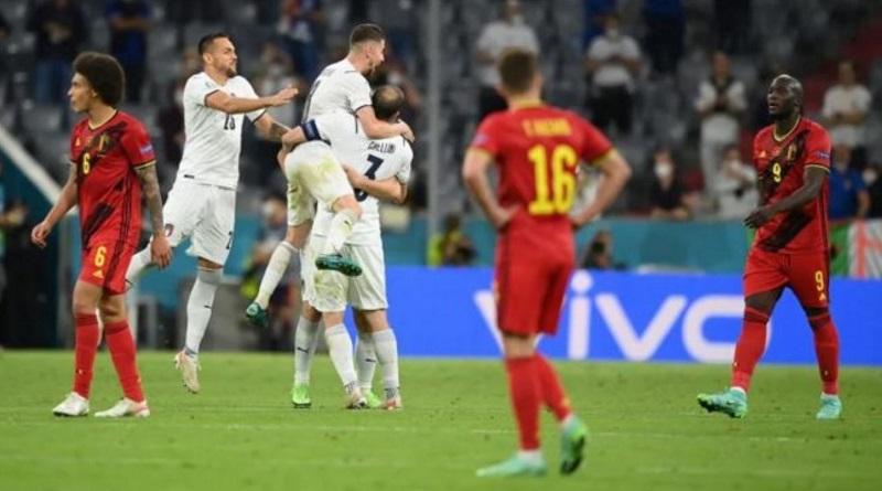 Италия отправила Бельгию домой с Евро-2020. Видео