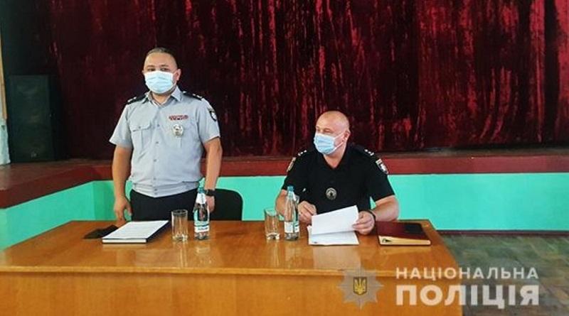 Вознесенское управление полиции получило нового начальника