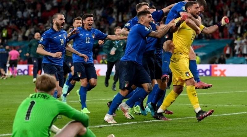 Сборная Италии стала победителем Евро-2020. Видео на youtube