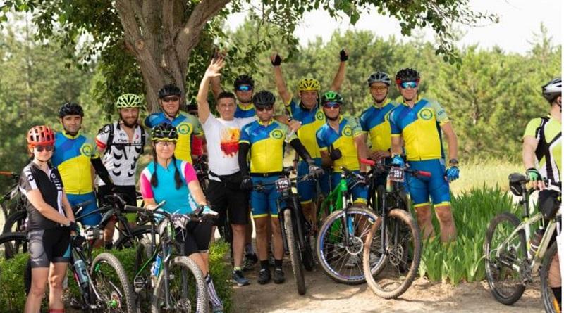 Велокоманда ЮУАЕС завоювала чотири призові місця на марафоні «100EnVelo»