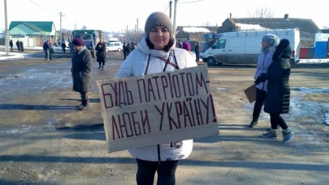 Протестующие перекрыли трассу Николаев-Кропивницкий