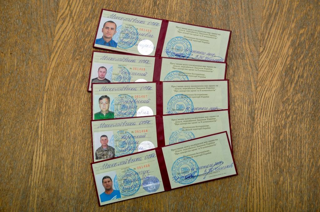 Пятеро работников ОП ЮУАЭС пополнили ряды почетных доноров Украины  Подробнее читайте на Юж-Ньюз: http://xn----ktbex9eie.com.ua/archives/10383