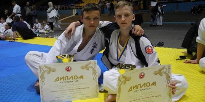 Юные николаевцы привезли золото и серебро с чемпионата Украины по киокушинкай каратэ Подробнее читайте на Юж-Ньюз: http://xn----ktbex9eie.com.ua/archives/51244