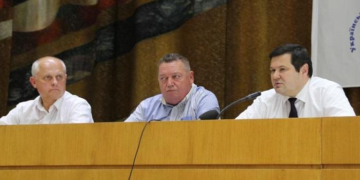 Отчетно-выборная конференция обособленного подразделения Украинского ядерного общества в Южноукраинске утвердила отчет и избрала руководителей на последующие 2 года Подробнее читайте на Юж-Ньюз: http://xn----ktbex9eie.com.ua/archives/51848