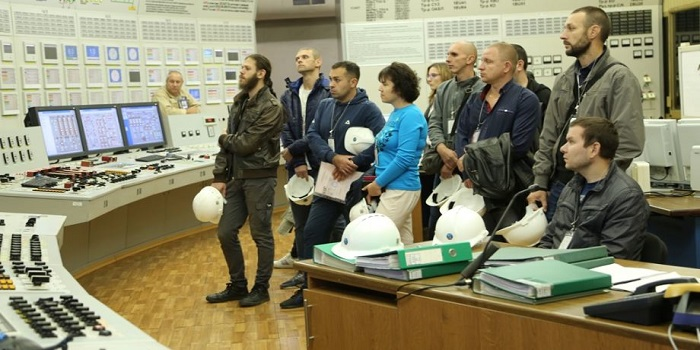 На ЮУАЭС в рамках технического тура побывали работники НПП «Радий» Подробнее читайте на Юж-Ньюз: http://xn----ktbex9eie.com.ua/archives/62670