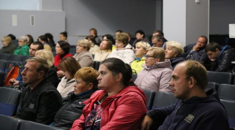 Общественные слушания по вопросам обоснования безопасности продления срока эксплуатации энергоблока №3 ОП ЮУАЭС состоялись в Вознесенской ОТГ Подробнее читайте на Юж-Ньюз: http://xn----ktbex9eie.com.ua/archives/65476