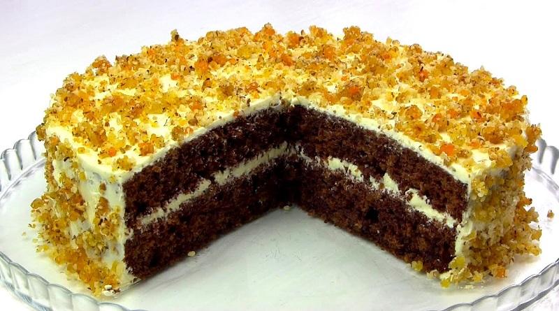 Торт «Янтарный». Шикарный, простой и недорогой Подробнее читайте на Юж-Ньюз: http://xn----ktbex9eie.com.ua/archives/67230