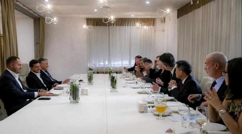 Зеленский в Николаеве встретился с послами стран G7 и Евросоюза