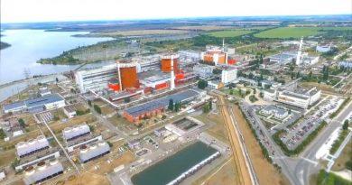 Южно-Український енергокомплекс у вересні. Виробничі показники