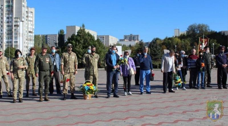Южноукраїнськ - З НАГОДИ ВІДЗНАЧЕННЯ ДНЯ ЗАХИСНИКА УКРАЇНИ ТА ДНЯ УКРАЇНСЬКОГО КОЗАЦТВА