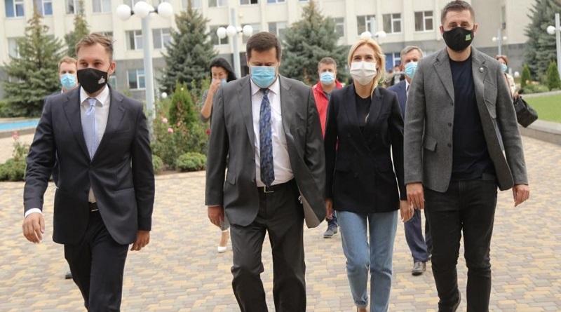 Южно-Українську АЕС відвідав народний депутат України Давид Арахамія