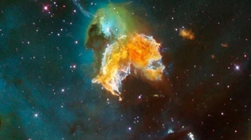 Возле Земли взорвались четыре звезды
