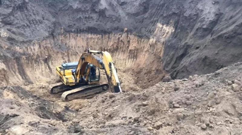 В Николаевской области экскаватором уничтожили царский скифский курган