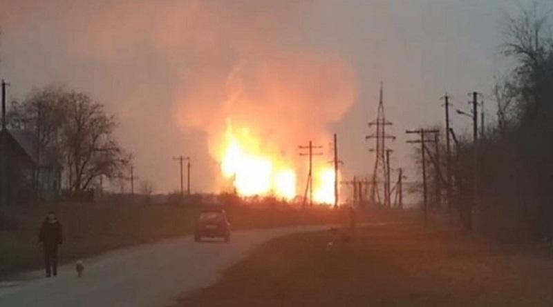 Стали известны подробности взрыва на газопроводе в Полтавской области