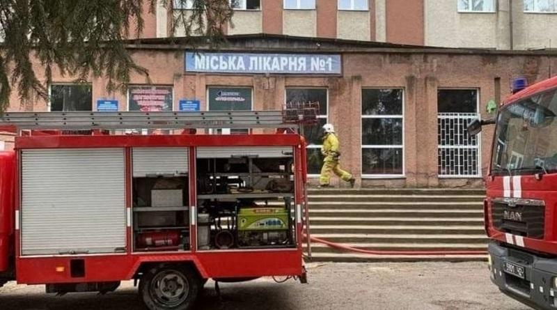 Пожар в черкасской горбольнице: один пациент погиб, у другого 75% ожогов тела