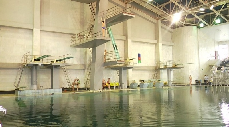 В Николаеве состоялся чемпионат Украины по прыжкам в воду