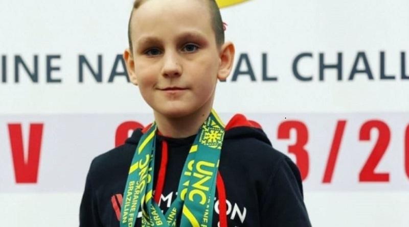 Николаевский школьник завоевал 3 медали на Чемпионате Украины по джиу-джитсу