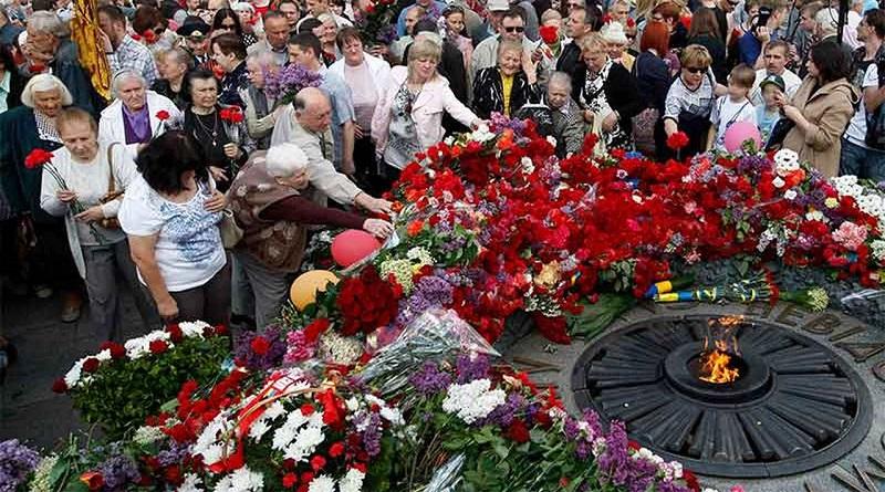 Украина отмечает День победы над нацизмом во Второй мировой войне