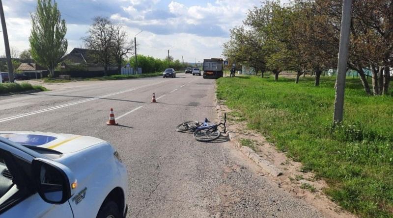 В Новой Одессе фура сбила 12-летнего велосипедиста