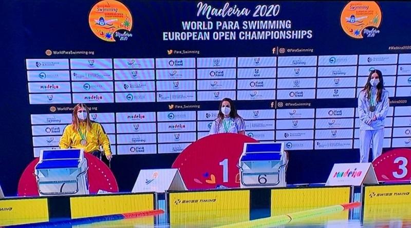 Николаевская спортсменка завоевала «серебро» чемпионата Европы по плаванию