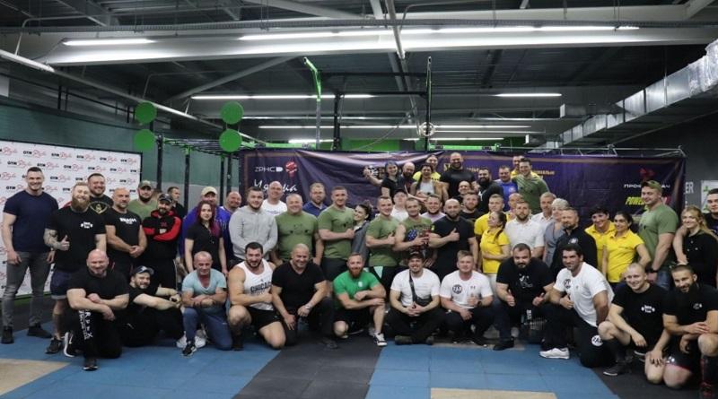 В Николаеве состоялись соревнования тяжелоатлетов «Железная Нация 7»