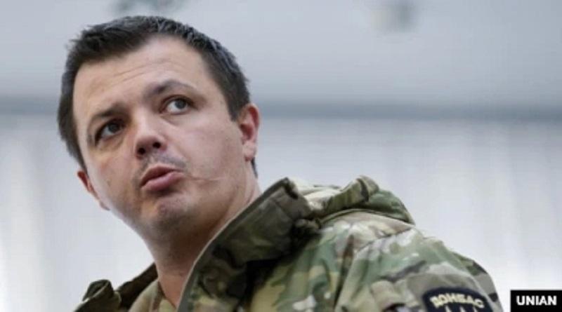 СБУ сообщила о подозрении Семену Семенченко в организации обстрела телеканала