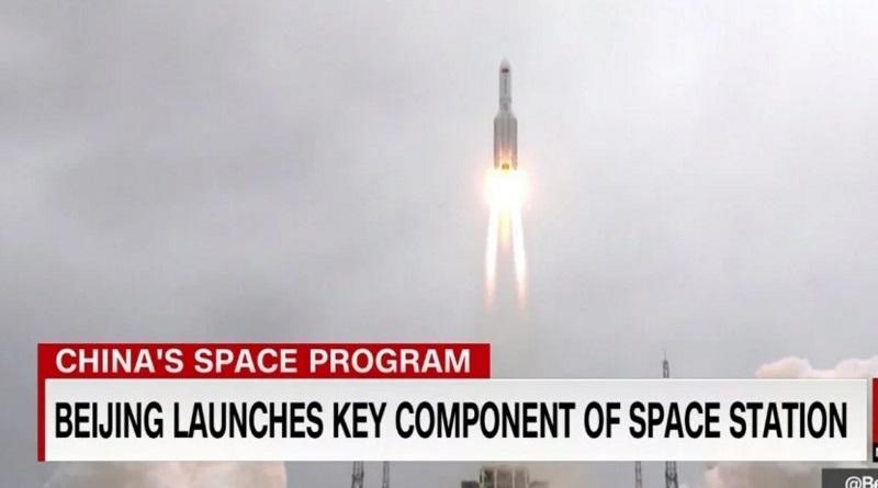 Неконтролируемая китайская ракета может упасть на Землю в любом регионе планеты - Пентагон