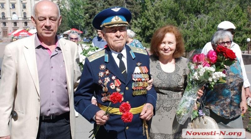 Военный летчик из Николаева отметил 99-й День рождения