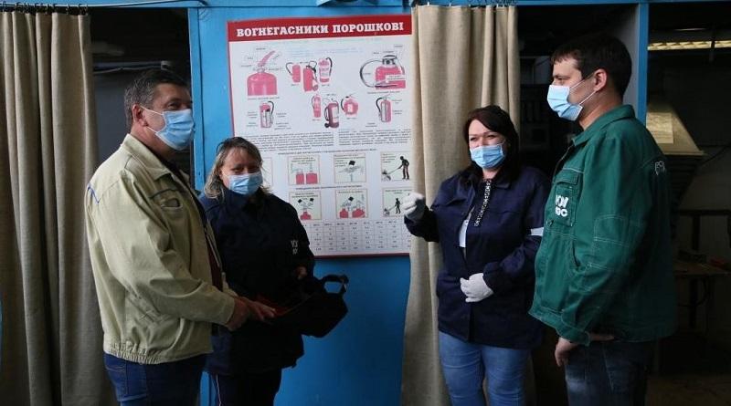 На ЮУАЭС стажируются мастера Южноукраинского профессионального лицея