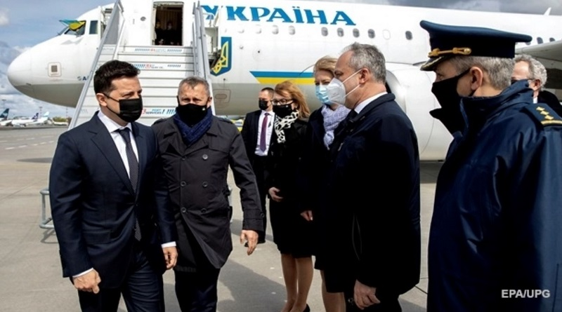 Владимир Зеленский прибыл с визитом в Польшу