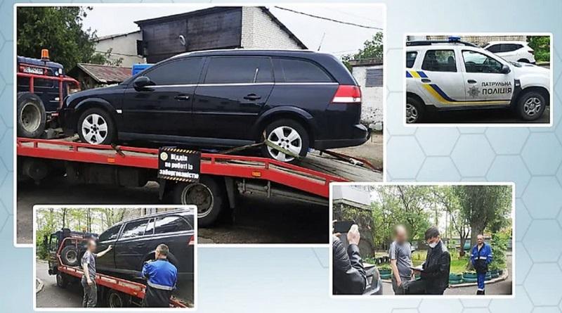 У николаевца за долги перед «Облтеплоэнерго» забрали автомобиль