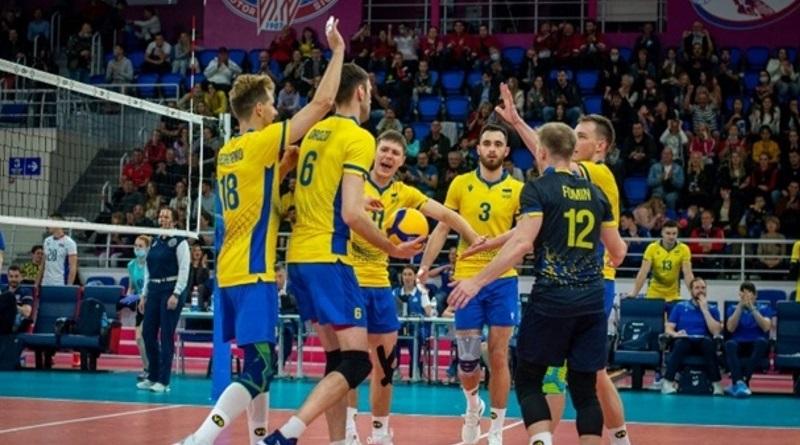 Сборная Украины по волейболу вышла в финал Золотой Евролиги