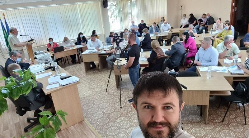 Южноукраинск - 14 Сессия. Как это было - Александр Надежа. Фото, видео.