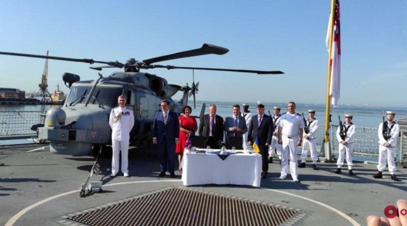 В Одессе Украина и Великобритания договорились о совместном строительстве военных кораблей