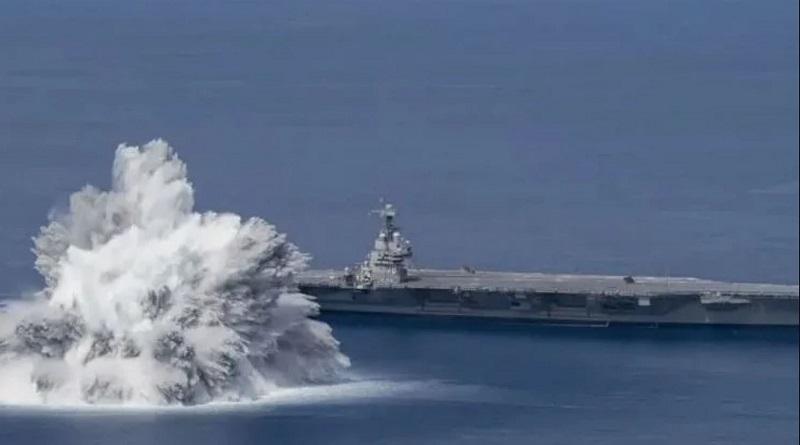 Американцы взорвали мощную бомбу в океане и вызвали землетрясение
