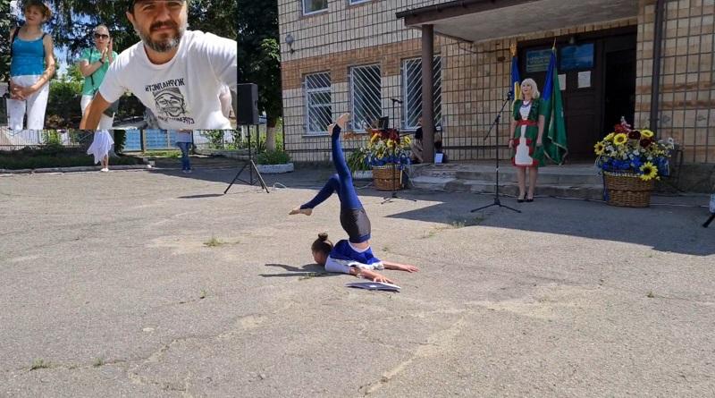 Девочка лицом в Асфальт. Танец перед СлУГАми НаРОДа