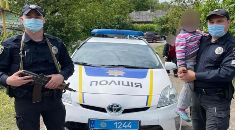 Первомайские полицейские оперативно разыскали и вернули родителям 6-летнюю девочку