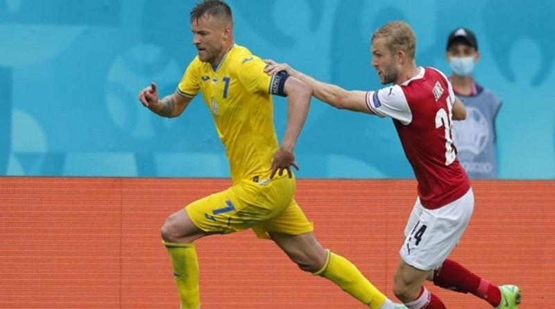 1:0: сборная Украины проиграла Австрии в решающей встрече группового этапа Евро-2020