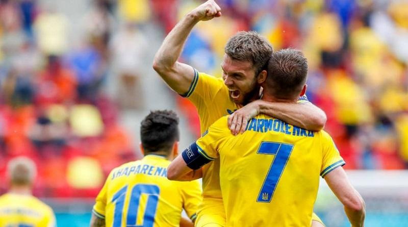 Евро-2020 (2021): сборная Украины одержала победу в матче с Северной Македонией