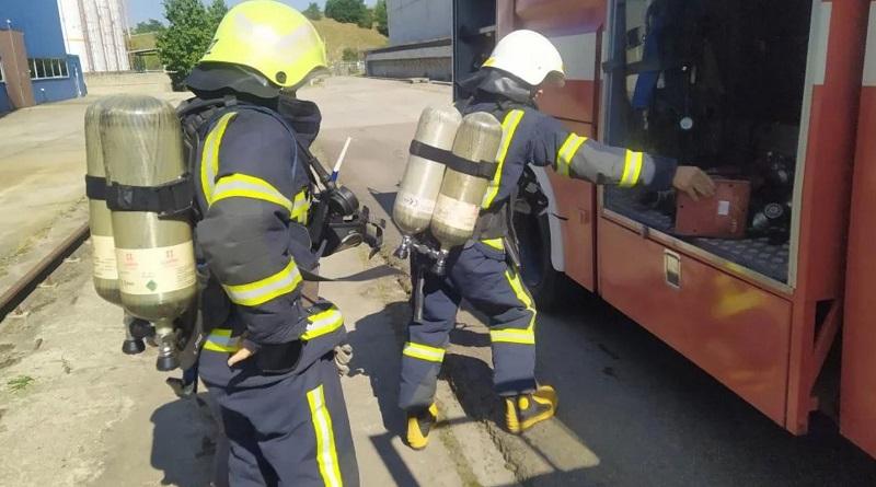 На Ташлицькій ГАЕС загасили УМОВНУ пожежу