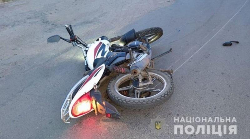 В Николаевской области мотоциклист сбил пешехода и погиб