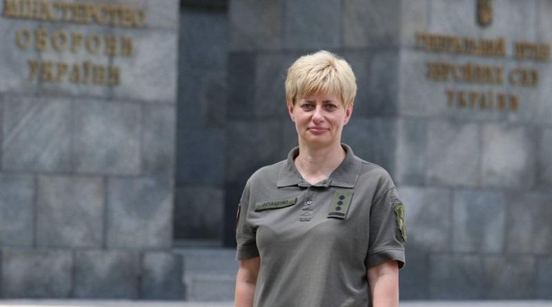 Одно из командований ВСУ впервые возглавила женщина
