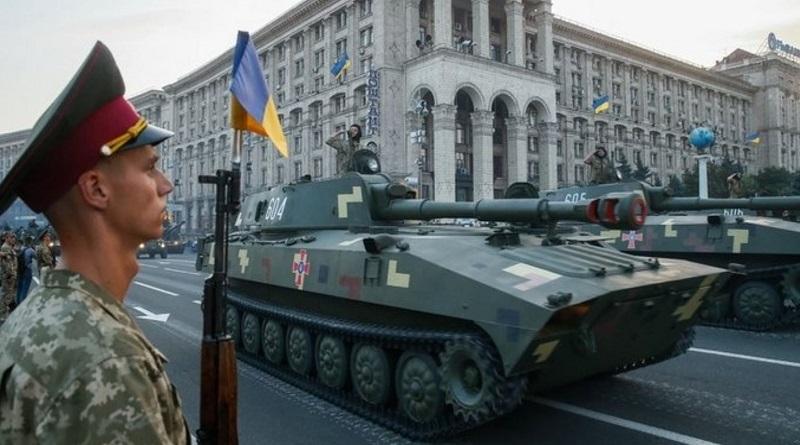 Парад в Киеве ко Дню Независимости (трансляция)
