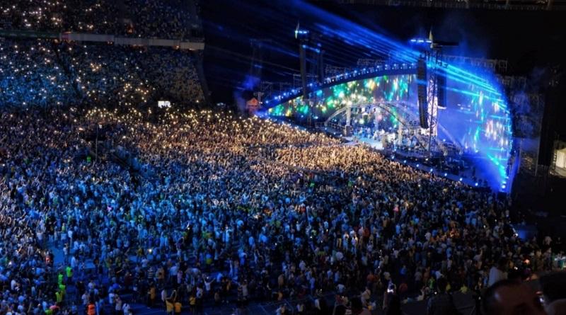 На концерте ко Дню Независимости в Киеве на зрителей упали квадрокоптеры: двое пострадавших